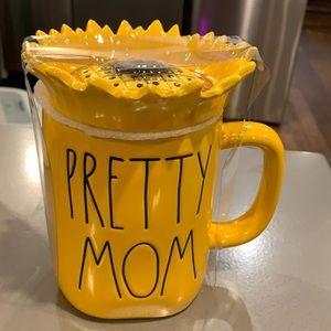RARE Rae Dunn pretty mom mug